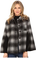 BB Dakota Alize Plaid Capelet