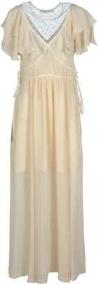 Philosophy di Lorenzo Serafini Ruffle Detailed Maxi Dress