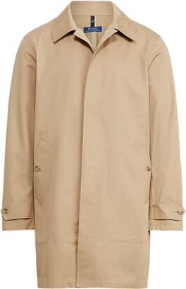 Ralph Lauren Twill Walking Coat