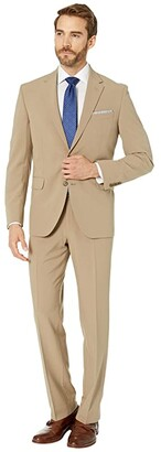 Dockers 32 Pre-Tailored Finished Bottom Suit (Tan) Men's Suits Sets