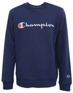 Champion Little Boys Embroidered Signature Fleece Crew Sweatshirt