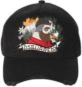 DSQUARED2 Lumberjack Patch Canvas Baseball Hat