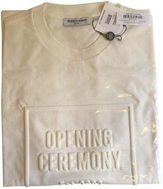 Opening Ceremony White Cotton T-shirts