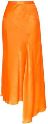 House of Holland asymmetric midi skirt