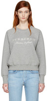 Burberry Grey Torto Logo Sweatshirt
