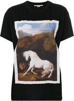 Stella McCartney horse print T-shirt - women - Cotton - 38