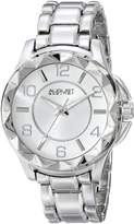 August Steiner Women's AS8159SS Analog Display Japanese Quartz Watch