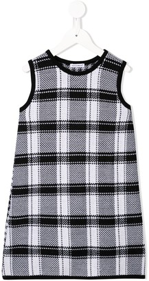Dolce & Gabbana Houndstooth Knitted Dress