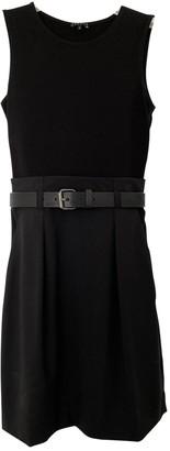 Theory Black Wool Dresses