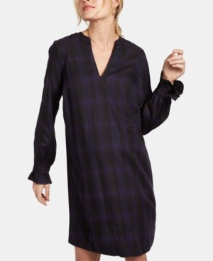 A Pea in the Pod Maternity Plaid Shift Dress