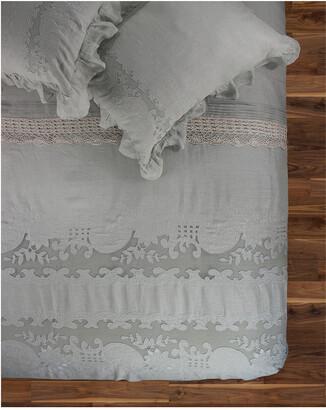 Melange Home Tabitha Linen Duvet Set