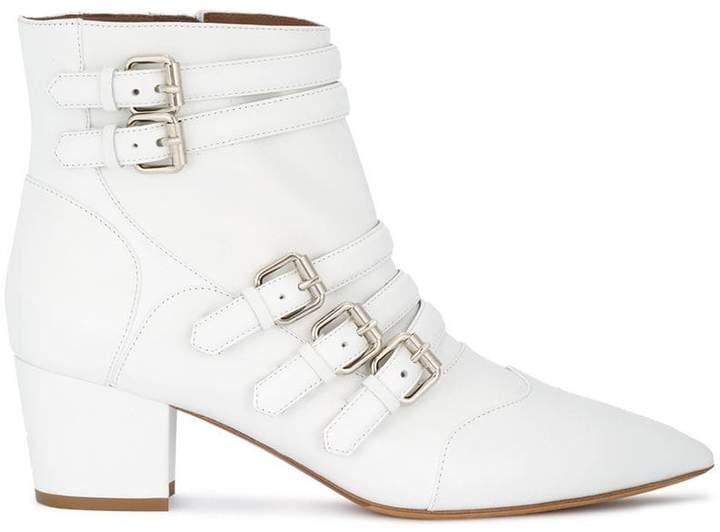 Tabitha Simmons Christy multi buckle boots