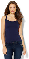 New York & Co. Skinny Cotton Tank Top