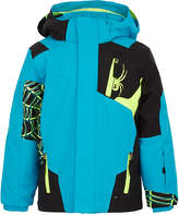 Spyder Blue Mini Quest Challenger Ski Jacket