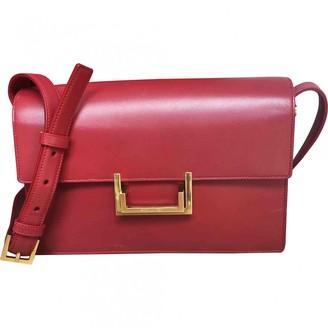 Saint Laurent Lulu Red Leather Handbags