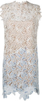 No.21 floral embroidered dress - women - Silk/Polyester/Acetate - 40
