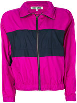 Kenzo Windbreaker jacket - women - Polyester - S