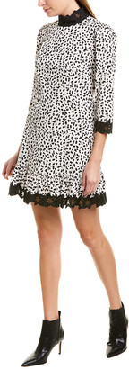 La Vie Rebecca Taylor Jaguar Drop Waist Dress