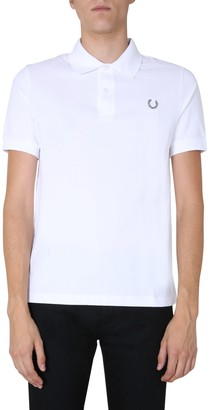 Fred Perry by Raf Simons Cotton Pique Polo Shirt
