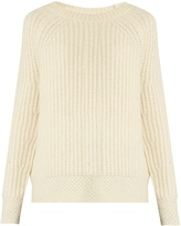 Nili Lotan Penelope ribbed-knit alpaca-blend sweater