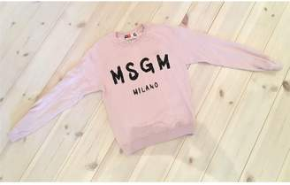 MSGM Pink Cotton Knitwear for Women