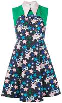 DELPOZO star-print collared dress