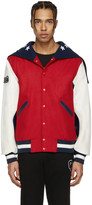 Opening Ceremony Red Usa Global Varsity Jacket