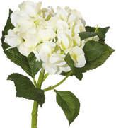OKA Faux Mop Head Hydrangea Flower Stem, Short
