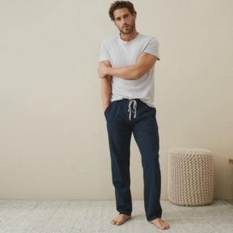The White Company Mens Pyjama Bottoms, Navy, Large