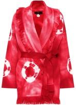 Alanui Baja tie-dye wool cardigan