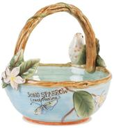 Fitz & Floyd Hand Painted Toulouse Basket