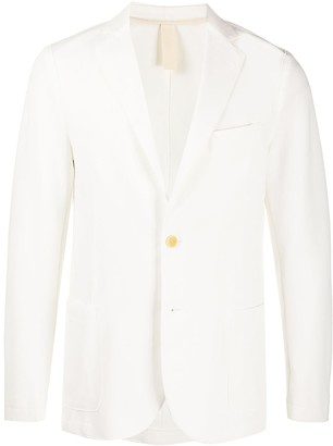 Eleventy Single-Breasted Fitted Blazer