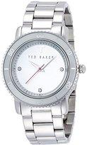 Ted Baker Women's Smart Casual Three-Hand Stainless Steel Women's Watch