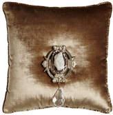 """6009 Parker Chani Lei Joule Medallion Pillow, 20""""Sq."""