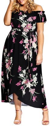 City Chic Maxi Lady Floral