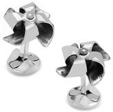 Cufflinks Inc. Sterling Silver Origami Pinwheel Cuff Links
