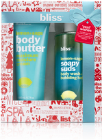 Bliss 'zest' Wishes Lemon + Sage Bath And Body Gift Set