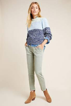 Anthropologie Flynn Tapered-Knit Trousers