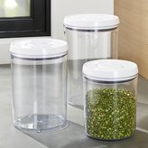 Crate & Barrel 3-Piece OXO ® Pop Round Containers with Lids Set