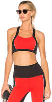 Beyond Yoga x kate spade Blocked Bow Bra in Red. - size M (also in S,XS)