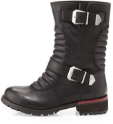 Kelsi Dagger Tune-Up Moto Boot, Black