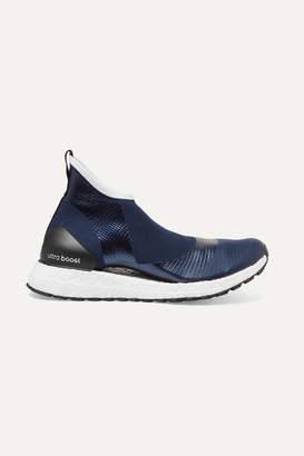 adidas by Stella McCartney Parley For The Oceans Ultraboost X All Terrain Metallic Primeknit Sneakers - Navy