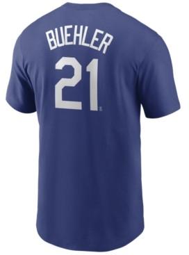 Nike Men's Walker Buehler Los Angeles Dodgers Name and Number Player T-Shirt