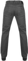 Giorgio Armani Jeans J21 Regular Fit Jeans Grey