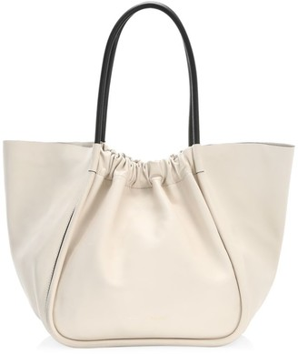 Proenza Schouler Extra-Large Ruched Leather Tote