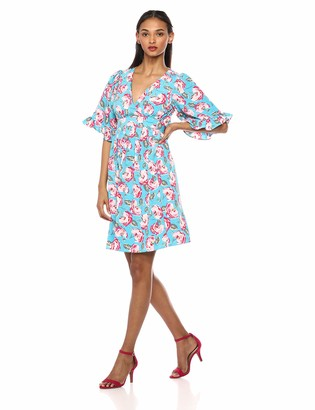 Betsey Johnson Women's Boho Bell Sleeve Dress