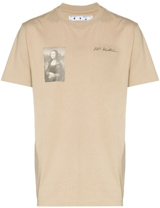 Off-White x Browns 50 Mona Lisa T-shirt