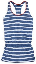 Splendid Girls' Chambray Stripe Beach Dress Cover Up - Sizes S-L