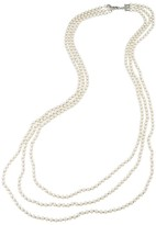 "Carolee Botanical Garden Strand Necklace, 32"""