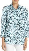 Lafayette 148 New York Brody Multi Dot Blouse